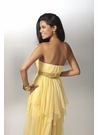Strapless Vixen Iridescent Chiffon Prom Dress 17153