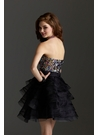 Clarisse Sequin Homecoming Dress 2225
