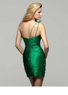 Clarisse Short Green Cocktail Dress 2028