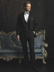 Allure Men Black Tuxedo By Jean Yves
