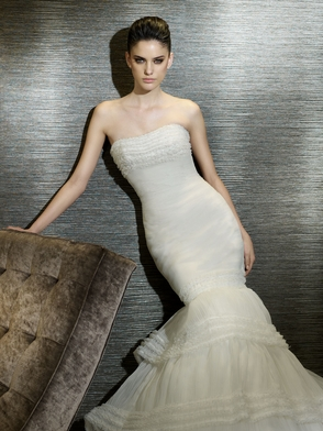 2012 San Patrick Wedding Dresses: Avant Garde Styling for the Bold Bride