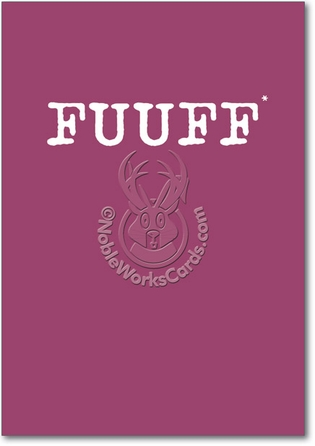 FUUFF Text Happy Birthday