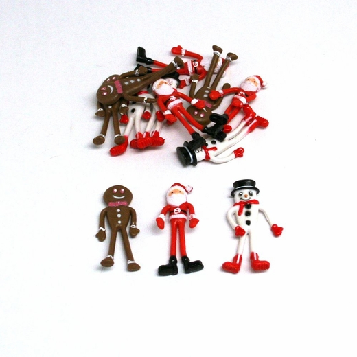 Bendable Christmas Figures