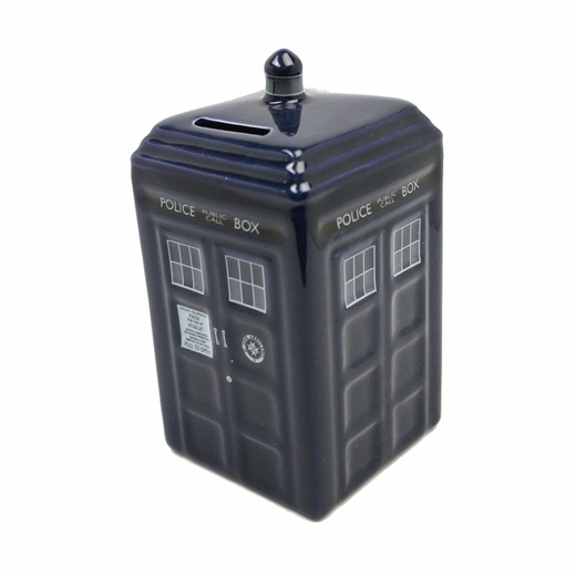 Doctor Who TARDIS Piggy Bank