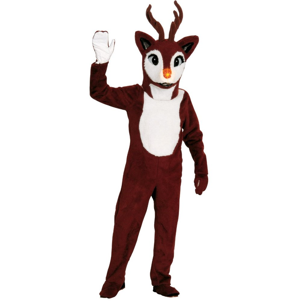 BUYSEASONS DIRECT Reindeer Adult Mascot One-Size : set at Sears.com