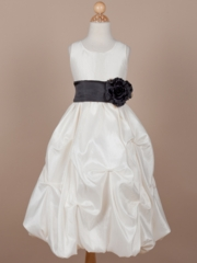 Maria Taffeta Flower Girl Dress