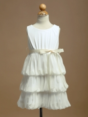 Michelle Chiffon Flower Girl Dress