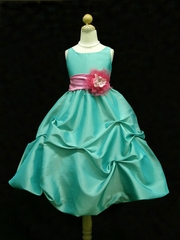 Eileen Pick-up Skirt Flower Girl Dress