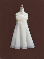 Cheryl Chiffon Short Flower Girl Dress