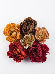 Fall Symphony Flower Pins