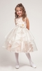 Mary Organza Overlay Flower Girl Dress
