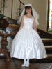 Alexandra Embroidered First Communion Dress'