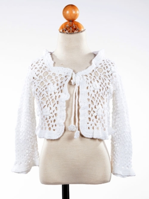 Connie Crochet Girl's Bolero
