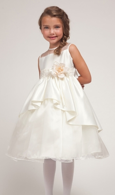 Betty Princess Overlay Flower Girl Dress