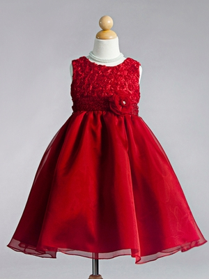Judith Orangza Flower Girl Dress