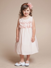 Amanda Ruffled Bodice Girl Dress