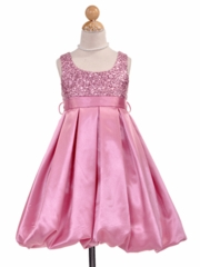Irene Bubble Flower Girl Dress