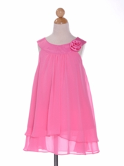 Zoe Double Layered Flower Girl Dress