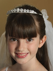 Nadia First Communion Veil