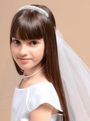 Cathy First Communion Veil