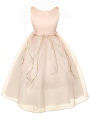 Rosse Organza Flower Girl Dress