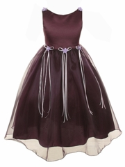 Nicole Organza Flower Girl Dress