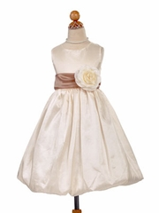 Sabrina Bubble Skirt Flower Girl Dress