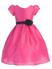 Kimberly Poly Dupioni Dress for Girl