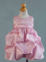 Kennette Taffeta Pick Up Infant Dress