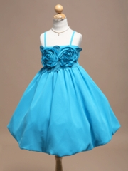 Marrisa Spaghetti Strap Flower Girl Dress