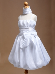 Brooke Bubble Skirt Flower Girl Dress