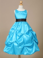 Diana Pick-up Style Flower Girl Dress