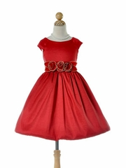 Sophie Bubble Flower Girl Dress
