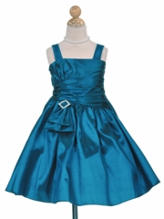 Christina Flower Girl Dress in Spaghetti Straps