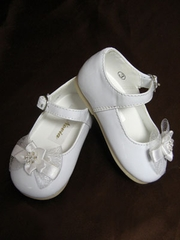 Infant flower girl shoes