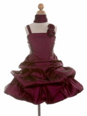 Rylee Short Bubble Flower Girl Dress