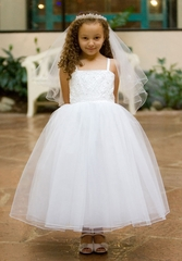 Kara Beaded First Communion Dress