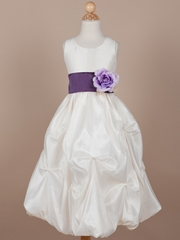 Maria Taffta Flower Girl Dress