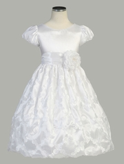 Alicia SleeveTaffeta Communion Dress