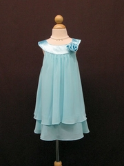 Lara Double Layered Flower Girl Dress