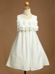 Amanda Ruffled Bodice Summer Dress