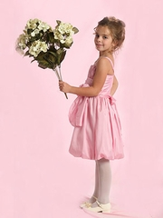 Zoe Bubble  Skirt Flower Girl Dress
