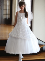 Sofia Taffeta First Communion Dress