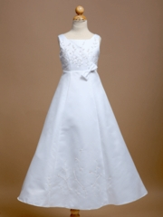 Kelly Embroidered Communion Dress