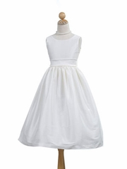 V-Back Communion Dress
