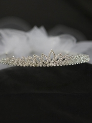 Princess Crown With Veil