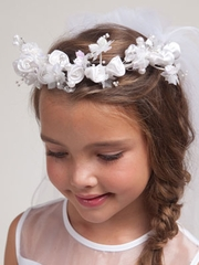 Tasha Beautiful Communion Veil