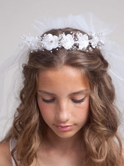 Olivia Combination Communion Veil