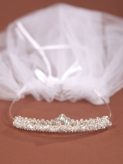 Communion Veil Crown