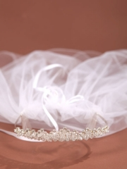 Communion Veil with Crown